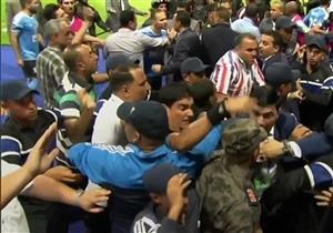 """عدسة مصراوي ترصد """"علقة موت"""" إبراهيم نور الدين"""