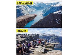 """بعيداً عن """"الفوتوشوب"""" والدعاية.. حقيقة صور أجمل  الأماكن السياحية"""