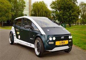 """""""لينا"""".. أول سيارة في العالم قابلة للتحلل - فيديو"""