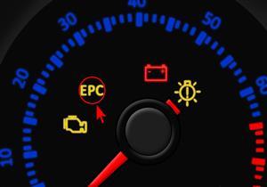 """ماذا تعني علامة """"EPC"""" لو أضاءة في تابلوة السيارة؟"""