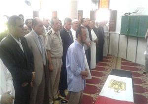"""تشييع جثمان الشهيد """"إسلام فايز"""" في جنازة عسكرية بالمنوفية"""