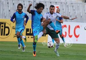 صور.. مباراة المصري وبتروجيت في الأسبوع الثاني للدوري