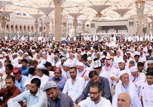 نصف مليون مُصَلٍّ يؤدون آخر جمعة خلال العام الهجري في المسجد النبوي