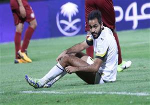 محمود كهربا يهدر ضربة جزاء أمام الفيصلي