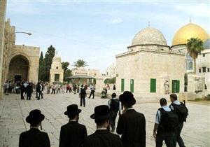 مستوطنون يهود يقتحمون الأقصى وسط حراسة شرطة الاحتلال الإسرائيلي