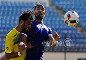 صور.. مباراة سموحة وطنطا بالأسبوع الثاني للدوري