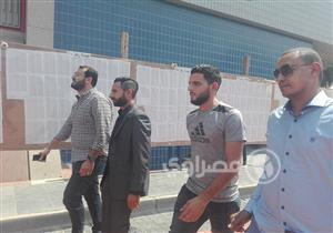 صور- وصول المدافع السوري عبدالله الشامي للنادي الأهلي