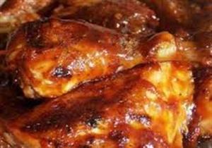 دجاج بدبس الرمان