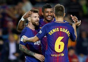 أهداف (برشلونة 6 - إيبار 1) سوبر هاتريك ميسي