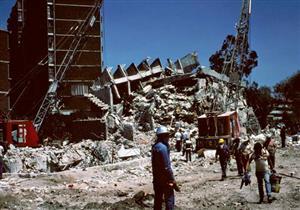 انهيار 181 مبنى في مكسيكو سيتي جراء زلزال قوته 7.1 درجة