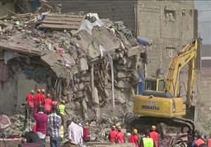 احتجاز 60 شخصا تحت أنقاض مبنى في كينيا
