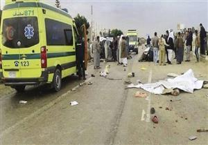"""إصابة 19 عاملاً في انقلاب سيارة بـ""""صحراوي بني سويف"""""""