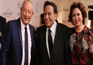 """ساويرس يكرم عادل امام في افتتاح مهرجان """"الجونة السينمائي"""" -فيديو"""