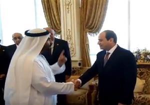 """بالفيديو- مسؤول إماراتي لـ""""السيسي"""": """"كلنا معك وفداءً لمصر"""""""