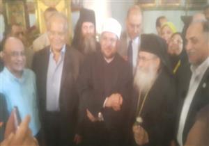 وزير الأوقاف يصطحب الوفود المشاركة بمؤتمر السياحة الدينية في جولة بدير سانت كاترين