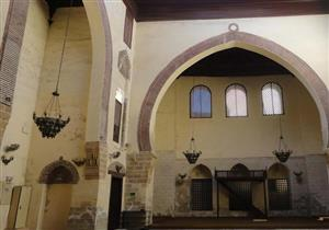 بالصور: مسجد عمرو بن العاص .. أهم أثار دمياط والذى يرجع تاريخه للفتح الإسلامى