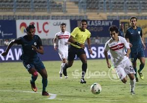 صور: مباراة الزمالك وإنبي في الجولة الرابعة من الدوري