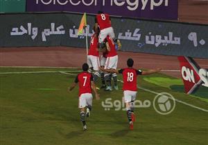 مباراة مصر وأوغندا بتصفيات المونديال وهدف صلاح