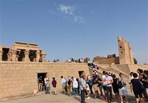 الاحتفال بليلة رأس السنة يُنعش الحركة السياحية في الأقصر