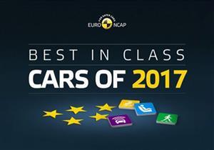 مؤسسة أوروبية تختار أكثر 7 سيارات أمانًا في 2017.. فيديو وصور