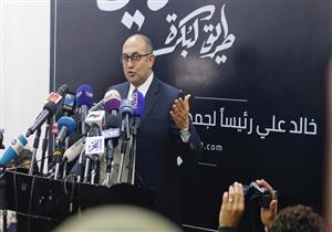 خالد علي يطالب مؤيديه بجمع 25 ألف توكيل وتسليمها لحملته قبل نهاية يناير