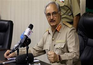 حفتر ينفي هجومه على سيف الإسلام القذافي: فبركة إخوانية