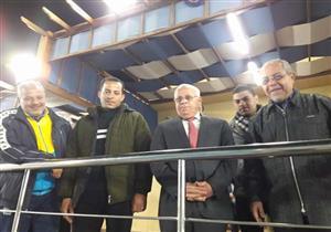 محافظ بورسعيد يتفقد القرية الرياضية قبل افتتاحها بأيام - صور