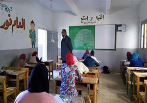 """وكيل """"تعليم المنوفية"""" يتابع اليوم الثاني لامتحانات الشهادة الإعدادية"""