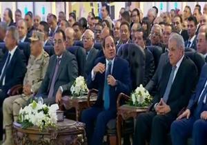 """قابيل يعلن عن إنشاء مجمع لصناعة المنسوجات بالسادات.. والسيسي: """"نخلصه في سنة ونص"""""""