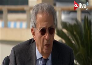 """عمرو موسى: مسار التعليم في مصر """"مؤسف""""- فيديو"""
