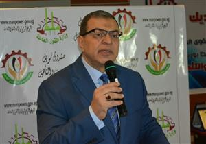 """بالصور.. وزير القوى العاملة يشهد ندوة """"مصر أمانة بين إيديك"""" في بورسعيد"""