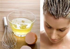 احذري من وضع البيض على شعرك لهذه الأسباب