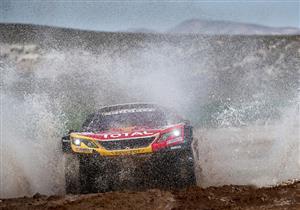 هانسيل سائق بيجو يفوز بالمرحلة العاشرة من رالي داكار وزميله يتصدر الترتيب