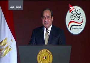"""بالفيديو .. السيسي يختتم """"حكاية وطن"""": """"نبني قواعد المجد وحدنا"""""""