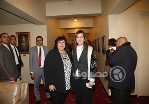 بالصور.. الوزراء ونجلا الزعيم عبد الناصر يحتفلون بمئويته في دار الأوبرا المصرية