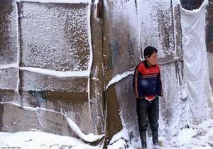 عاصفة ثلجية تقتل 10 لاجئين سوريين تجمدوا حتى الموت على حدود لبنان