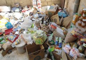 ضبط مواد وسلع غذائية فاسدة في حملات للصحة بالإسكندرية