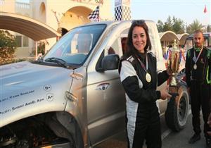 """ESPN"" تلقي الضوء على أول مصرية ستشارك في بطولة العالم للراليات"