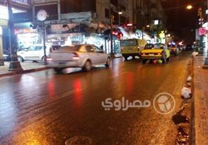 """بالصور - سقوط أمطار ثلجية في الإسكندرية مع ثاني ليالي """"نوة الكرم"""""""
