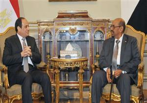 """السيسي بعد وصوله السودان: الروابط بين البلدين """"خالدة"""" كمجرى النيل"""