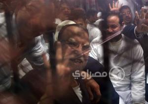 """تأجيل محاكمة بديع و738 متهمًا في قضية """"فض اعتصام رابعة """" لـ 4 فبراير"""