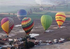 تنظيم 16 رحلة بالون طائر على متنها 306 سائحين بالأقصر