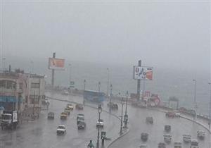 بالخرائط- توقعات بهطول أمطار على الإسكندرية غدا وبعد غد