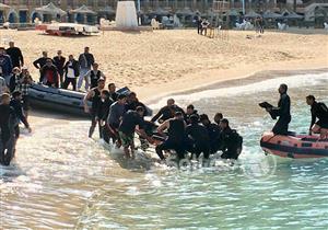 """بالصور- لحظة انتشال جثة """"غريق ستانلي"""".. ومصدر أمني يفجر مفاجأة"""