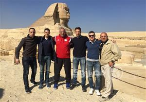 صور.. حكام القمة في زيارة للمعالم السياحية قبل مغادرة مصر