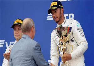 """هاميلتون يقترب من لقبه الخامس عالميًا بعد الفوز بـ""""فورمولا-1"""" الروسي"""