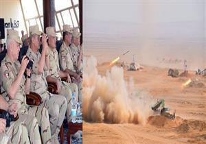 """وزير الدفاع خلال المناورة التكتيكية """"نصر 14"""": نجحنا في مكافحة الإرهاب البغيض"""