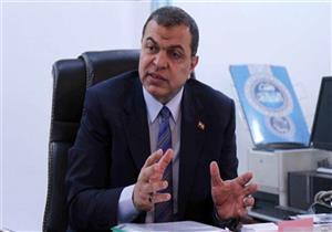 """""""سعفان"""" يؤكد ضرورة توحيد الجهود لإنشاء قاعدة بيانات للعاملين والمصريين بالخارج"""