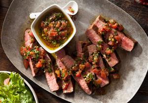 طريقة بسيطة وصحية لتحضير قالب اللحم بالخضروات