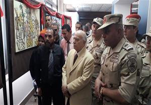 بحضور قائد الجيش الثالث.. احتفال في جامعة قناة السويس بحرب أكتوبر (صور)